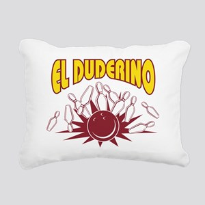 bowl63dark Rectangular Canvas Pillow