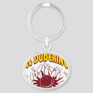 bowl63light Oval Keychain