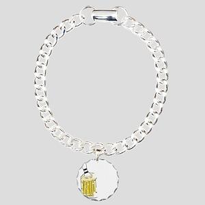bowl55dark Charm Bracelet, One Charm
