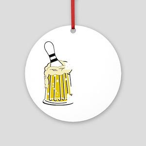 bowl55dark Round Ornament
