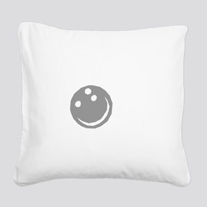 bowl64dark Square Canvas Pillow