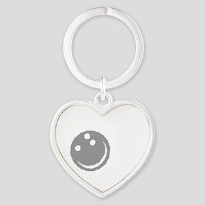 bowl64dark Heart Keychain