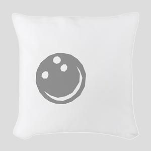bowl64dark Woven Throw Pillow