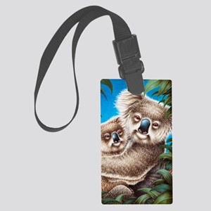 509-iTouch4 Generic Case (koalas Large Luggage Tag