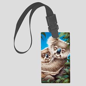 509-iTouch4 Generic Case (koalas Large Luggage Tag