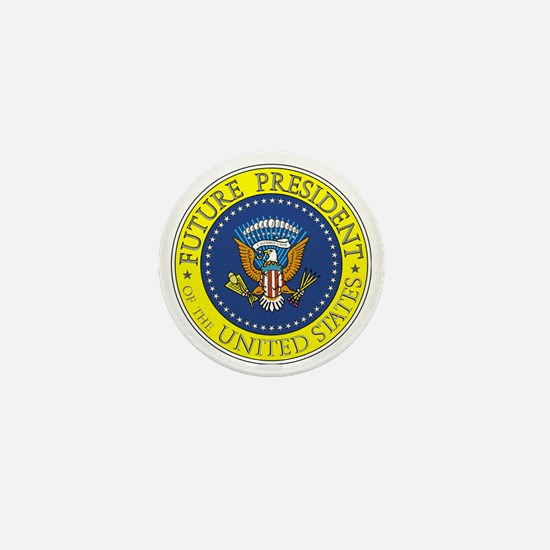 Future-President-6X6 Mini Button
