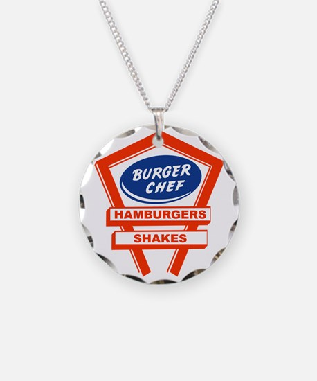 burger-chef-sign Necklace