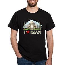 I Love Islam Dark T-Shirt