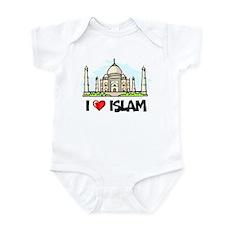 I Love Islam Infant Bodysuit