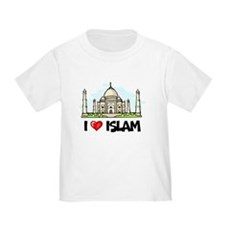 I Love Islam Toddler T-Shirt