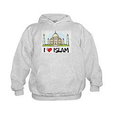 I Love Islam Kids Hoodie