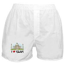 I Love Islam Boxer Shorts