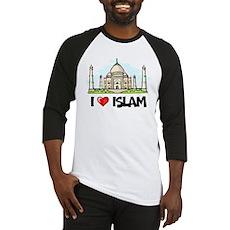 I Love Islam Baseball Jersey