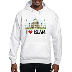 I Love Islam Hooded Sweatshirt