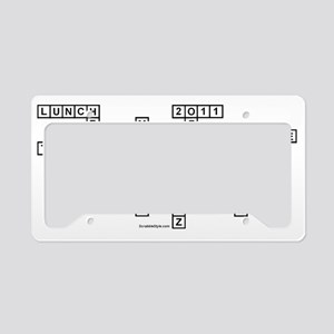 lisa License Plate Holder