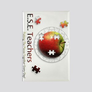 ESEteachers-rotated Rectangle Magnet