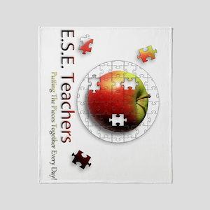 ESEteachers-rotated Throw Blanket