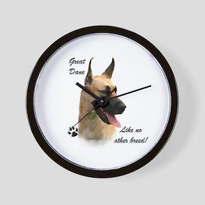 Great Dane Breed Wall Clock