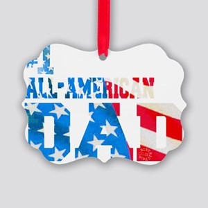 all_american_dad Picture Ornament