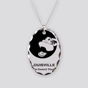LLD Logo with text(1) Necklace Oval Charm