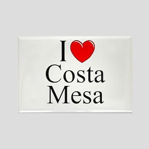 """I Love Costa Mesa"" Rectangle Magnet"