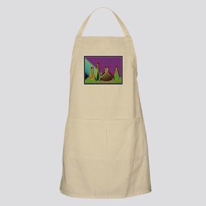 'Bottles on a shelf' BBQ Apron