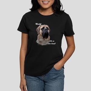 Mastiff Breed Women's Dark T-Shirt