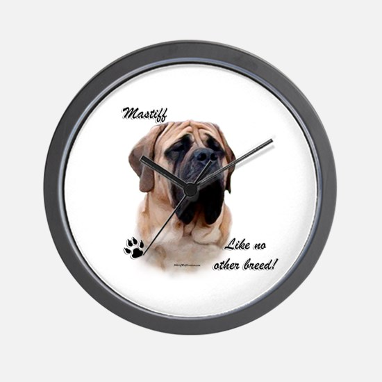 Mastiff Breed Wall Clock