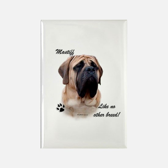 Mastiff Breed Rectangle Magnet