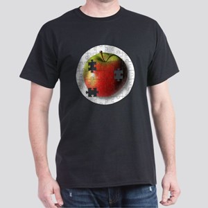 ESEteachersPuzzleApple Dark T-Shirt
