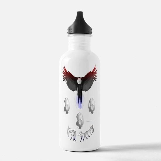 US Soccer Eagle Water Bottle