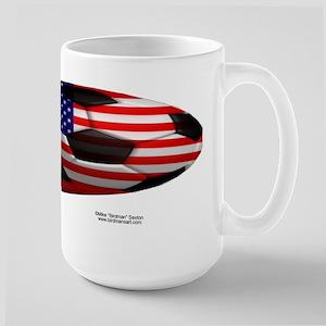 American Football Pride Large Mug