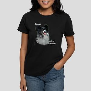 Papillon Breed Women's Dark T-Shirt