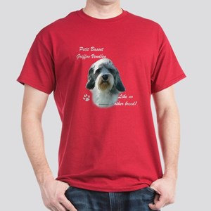 PBGV Breed Dark T-Shirt