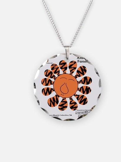 Pumpkin-Puss Zebrattica Maji Necklace