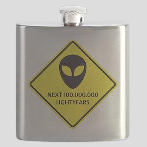 Aliens Flask