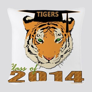 14tigers Woven Throw Pillow