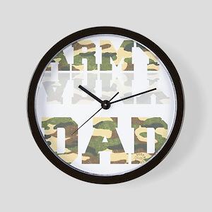 army_dad Wall Clock