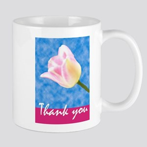 Thistle Sky Tulip Mugs