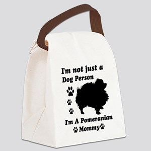 pomeranian_mommy Canvas Lunch Bag
