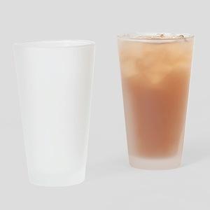 schnauzer_mommy_white Drinking Glass