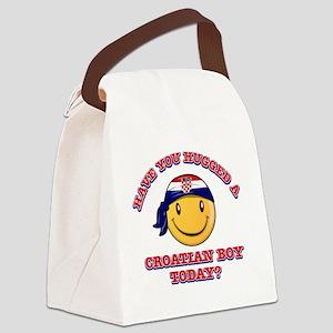 croatian-boy Canvas Lunch Bag