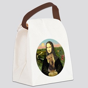 ORN-Mona-Airedale Canvas Lunch Bag