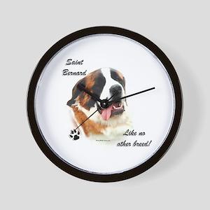 Saint Breed Wall Clock