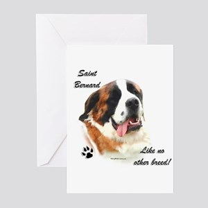 Saint Breed Greeting Cards (Pk of 10)