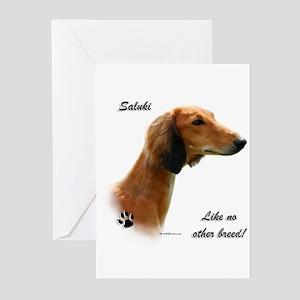 Saluki Breed Greeting Cards (Pk of 10)