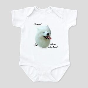 Samoyed Breed Infant Bodysuit