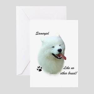 Samoyed Breed Greeting Cards (Pk of 10)