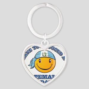 guatemalan Heart Keychain