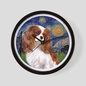 ORN-Cavalier2-StarryNight Wall Clock